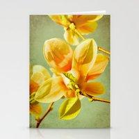 Sunny Magnolias Stationery Cards