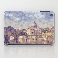 Vatican City Sketch and Watercolor iPad Case