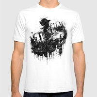 Like A Film Noir Mens Fitted Tee White SMALL