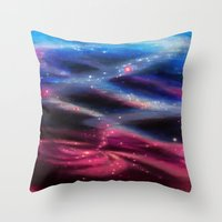 Universe Reflected Throw Pillow