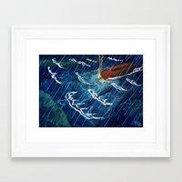 First Judgement (Noah's … Framed Art Print