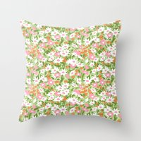 vintage 12 Throw Pillow