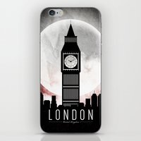 London BW  iPhone & iPod Skin