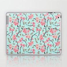 Cherry Blossom Pattern(sky) Laptop & iPad Skin