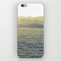 Light in the fields iPhone & iPod Skin