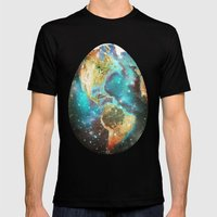 Somewhere in the Universe... Mens Fitted Tee Black SMALL
