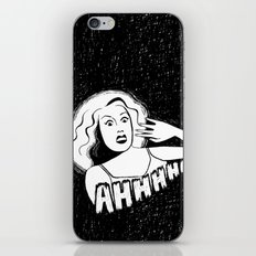 Classic horror movie scream iPhone & iPod Skin