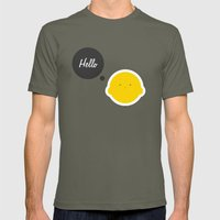 Hello Pets no.1 Mens Fitted Tee Lieutenant SMALL