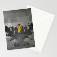 angry eagle Stationery Cards