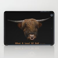 What A Load Of Bull .... iPad Case