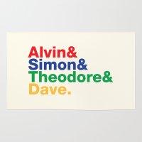 ALVIN&SIMON&THEODORE&DAVE. Rug
