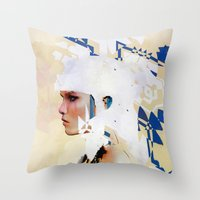 Valkyrie 2 Throw Pillow