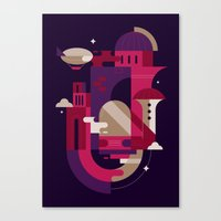 Retrofuturism Canvas Print
