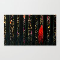 One Day, Suddenly Canvas Print