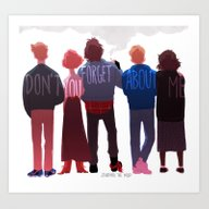 The Club Of Five Art Print