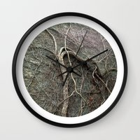 Planetary Bodies - Vines Wall Clock