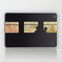 Travelling Without Movin… Laptop & iPad Skin