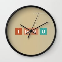 We've Got Chemistry Wall Clock