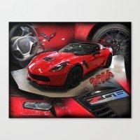 2016 corvette Z06 Canvas Print