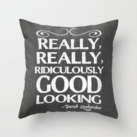Really, Really, Ridiculo… Throw Pillow