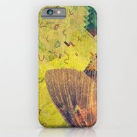 iPhone & iPod Case featuring moth by Laura Moctezuma