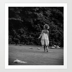 In Her Own Little World Art Print