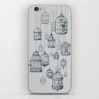 Last Bird In The Shop iPhone & iPod Skin