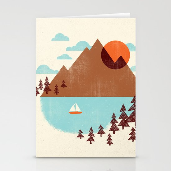 Indian Summer Stationery Card