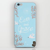 'Ease And Grace' iPhone & iPod Skin