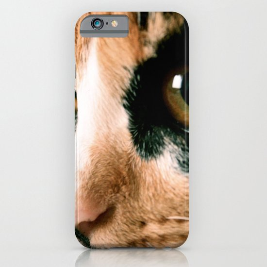 Thinking Cat iPhone & iPod Case