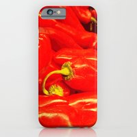 iPhone & iPod Case featuring Hot Red  by Miss Baker