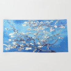 Vincent Van Gogh Almond Blossoms. Beach Towel
