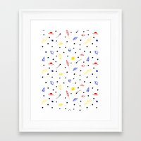 Space Age Framed Art Print