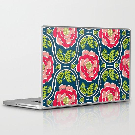 Yogita : India Floral Laptop & iPad Skin