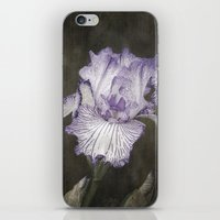 Waves of Purple iPhone & iPod Skin