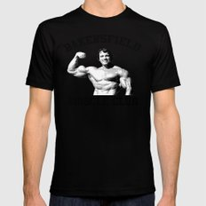 Muscle club Mens Fitted Tee SMALL Black