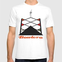 Atomic Americana Mens Fitted Tee White SMALL