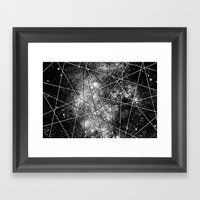 Fly Up to the Heavens (bnw) Framed Art Print