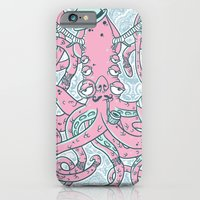 iPhone & iPod Case featuring The Gentleman Squid by Doyle Raw Meat