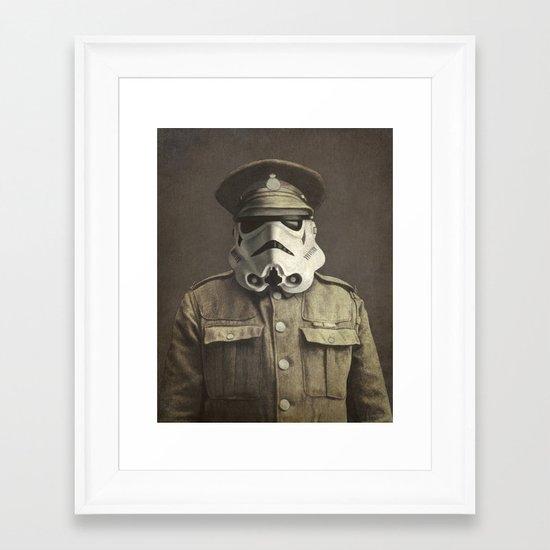 Sgt. Stormley  Framed Art Print