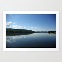 Lovely Lake Art Print