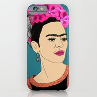 iPhone & iPod Case featuring Frida Kahlo by Stephanie Jett