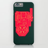 Circuit Drawing of a Proton Pack iPhone 6 Slim Case
