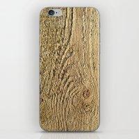 Unrefined Wood Grain iPhone & iPod Skin