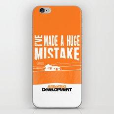I've Made a HUGE Mistake... Arrested Development iPhone & iPod Skin