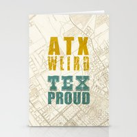 ATX Weird TEX Proud Stationery Cards
