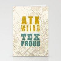 ATX Weird TEX Proud Stationery Cards