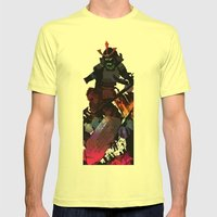 Culture Shock - S Mens Fitted Tee Lemon SMALL