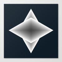 triangular elements Canvas Print