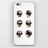 stoneheads 001 iPhone & iPod Skin